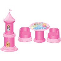 Disney Princess Castle Transforming Table and Chairs Set ...