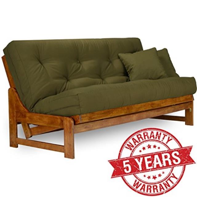 nirvana futons arden futon frame full size solid hardwood