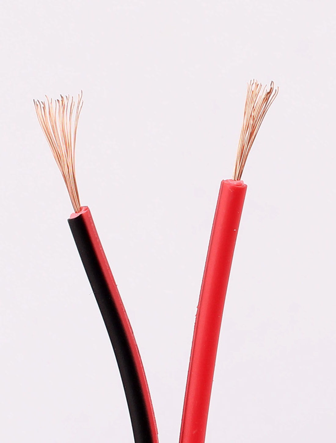 small resolution of household black red plastic insulated 2p electrical wire power cable 10m 33feet walmart canada