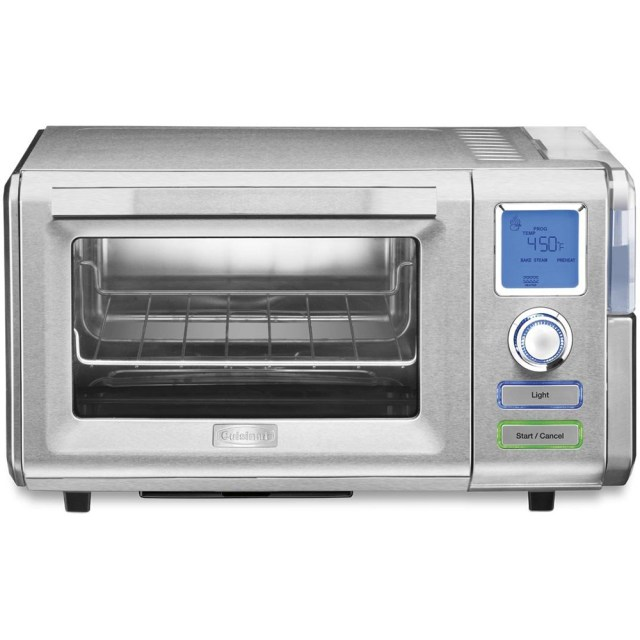 Cuisinart .60 Cu Ft Combo Steam/Convection Oven, Silver