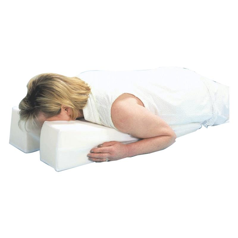 face down wedge pillow for surgery or injury recovery walmart com
