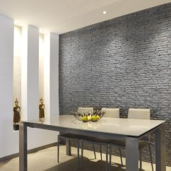 Wall Panels For Living Room Best Leather Furniture Ledge Stone 3d Interlocking Design Tv Walls Bedroom Sofa Background Commercial And Residential Application