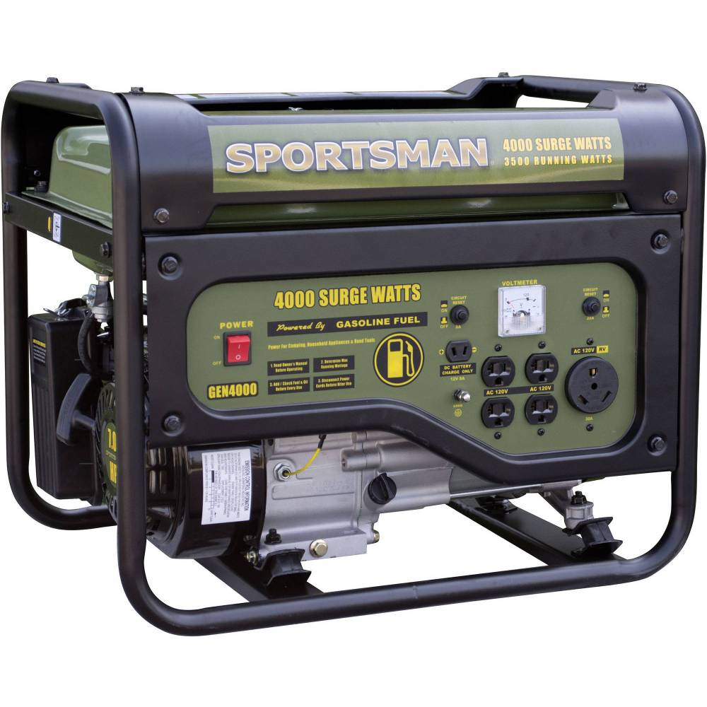 medium resolution of 5802 10000 watt electric start portable generator 49 state walmart com