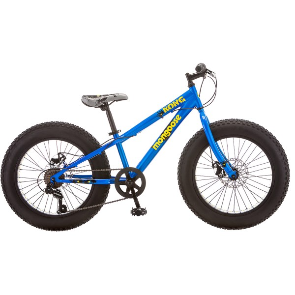 In Mongoose Kong Boys Terrain Fat Tire Bike Blue 038675176003