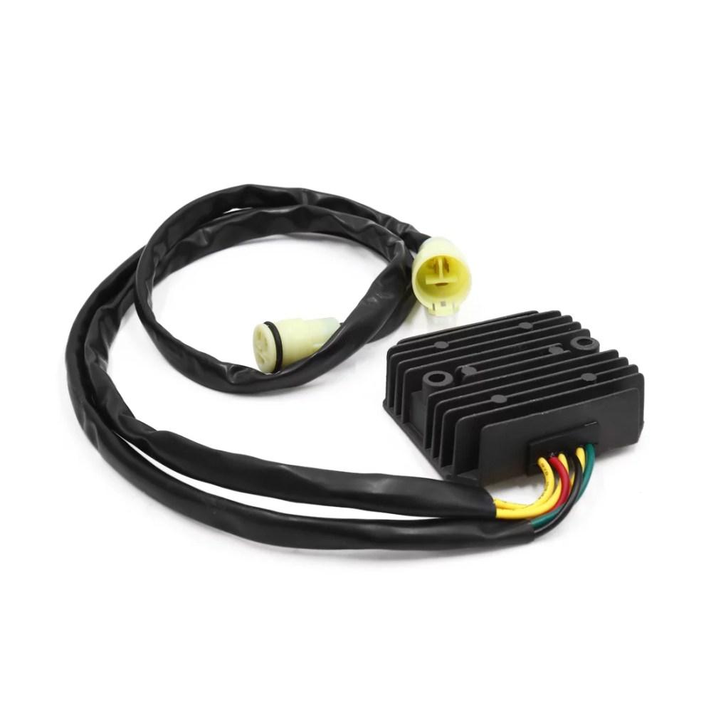 medium resolution of metal motorcycle voltage regulator rectifier for honda atv trx250 300 350