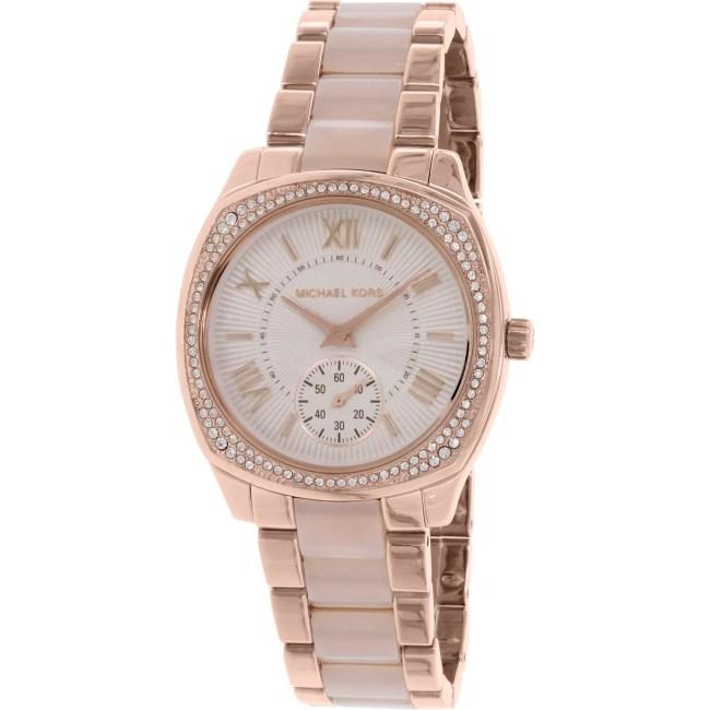 Michael Kors Women's Bryn MK6135 Rose Gold Stainless-Steel Quartz Fashion Watch