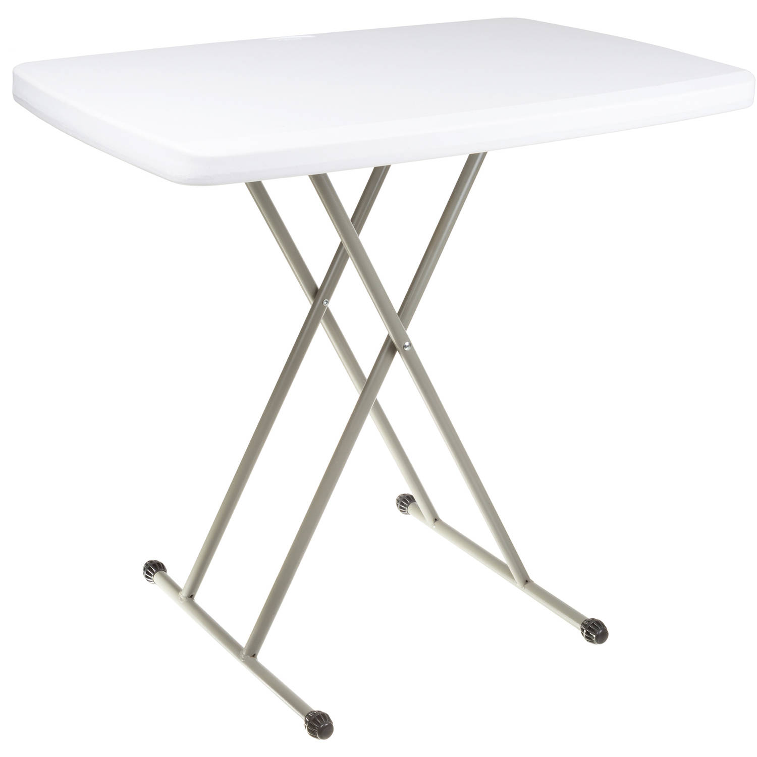 Folding Table Foldable Table and TV Tray by Everyday Home
