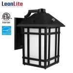 Leonlite 14w Led Outdoor Security Light Waterproof Wall Lights Wall Lantern Light Fixture Outdoor Lighting With Photocell Walmart Com Walmart Com