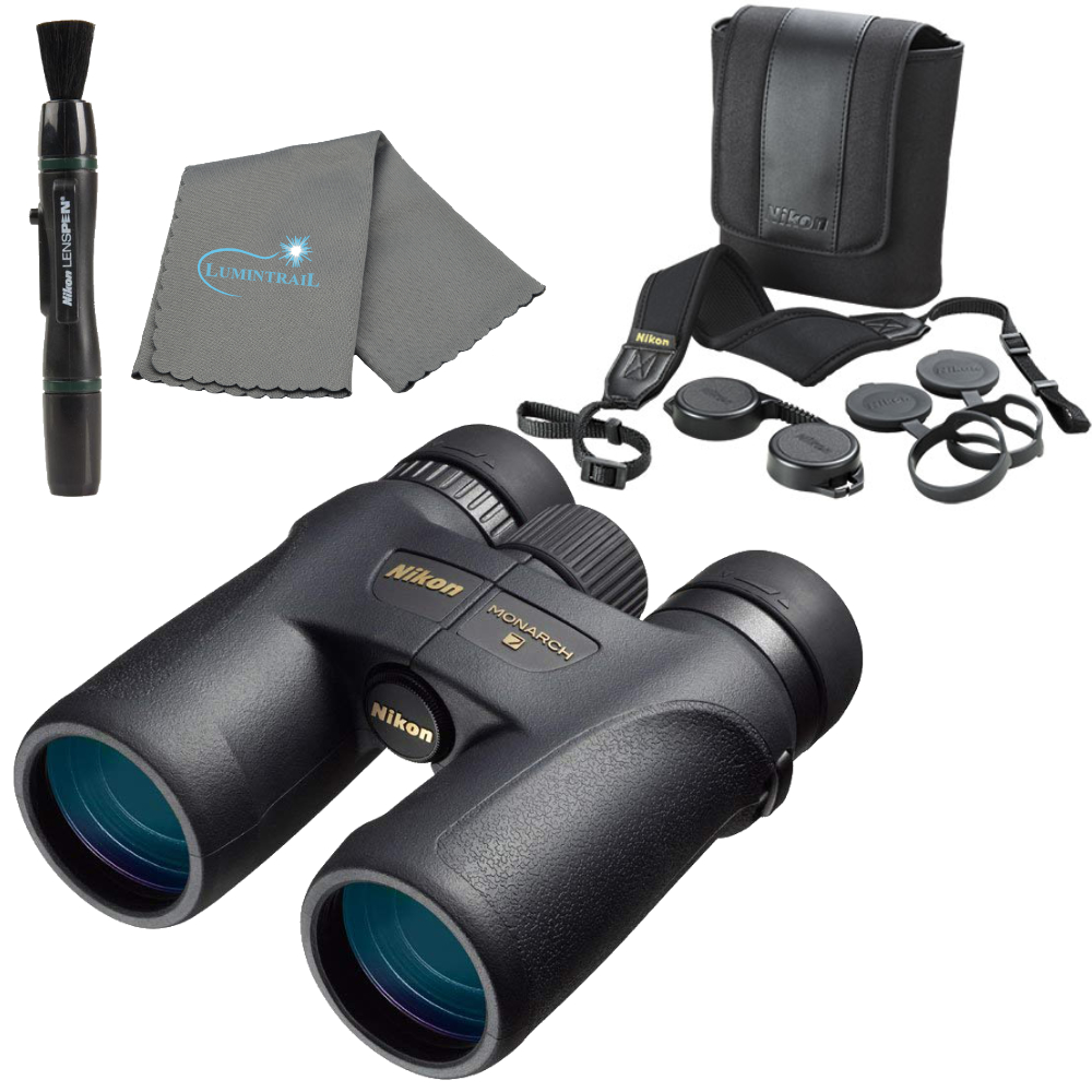 Nikon Monarch 7 8x42 Binoculars w/ Nikon Lens Pen and Cleaning Cloth
