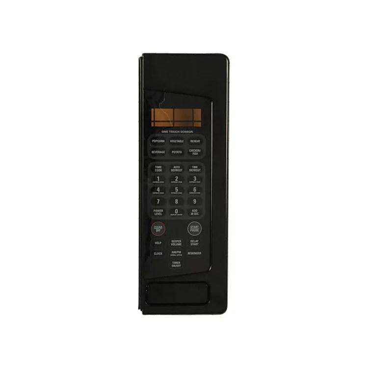 wb27x10681 ge microwave control panel sub asm
