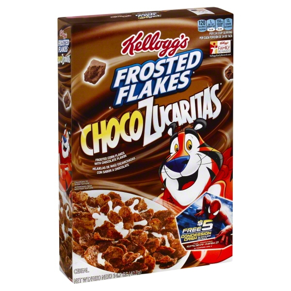 UPC 038000717130 Kellogg39s Frosted Flakes Chocolate 14