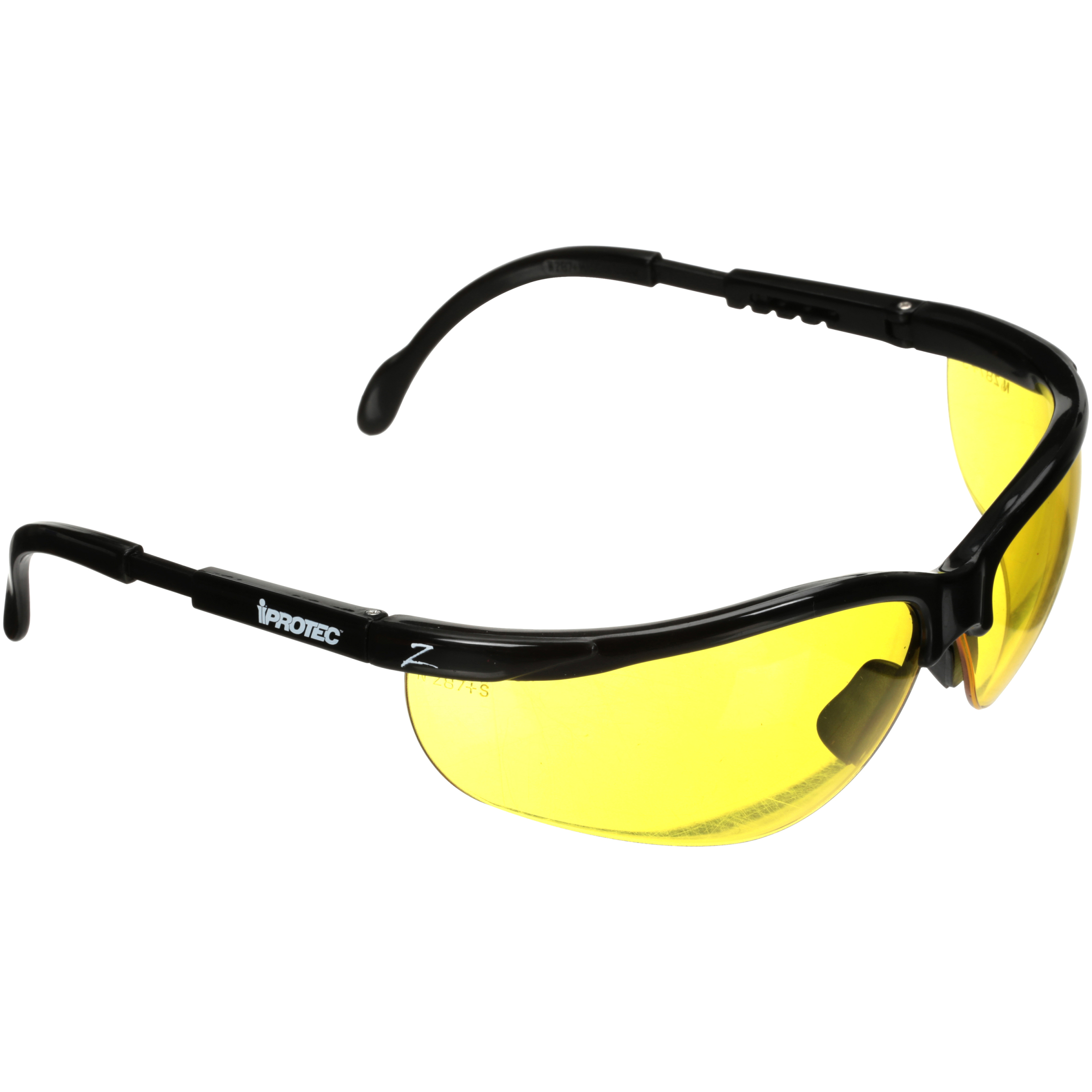 iProtec™ Z-Lens™ Yellow Safety Sport Glasses 3 pc pack ...