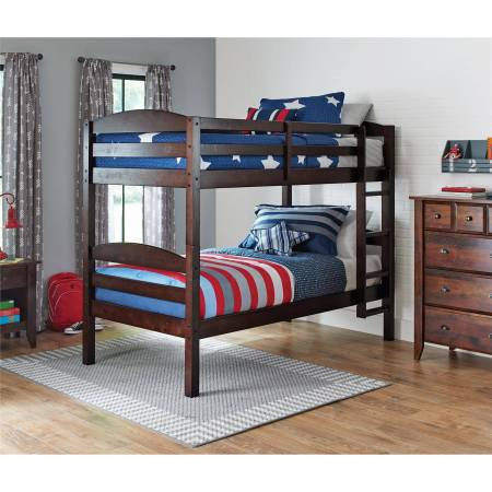 Better Homes And Gardens Leighton Twin Over Wood Bunk Bed
