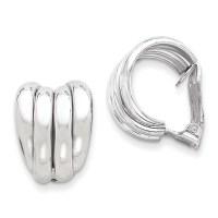 Sterling Silver Clip Back Non-pierced Earrings - Walmart.com