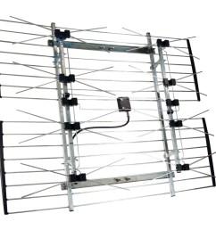 channel master cm 4228hd extremetenna 80 hd outdoor antenna walmart com [ 1500 x 1500 Pixel ]
