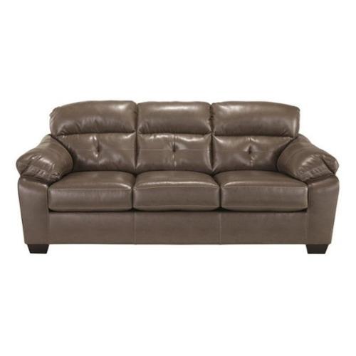 ashley furniture durablend sleeper sofa grey slipcover signature design by bastrop fabric in steel walmart com