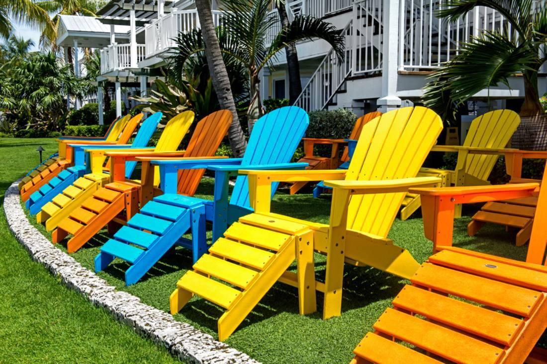 key west chairs folding chair rentals orlando color florida print wall art by philippe hugonnard walmart com