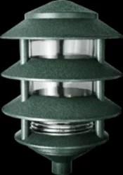 rab lighting verde green 4 tier lawn light