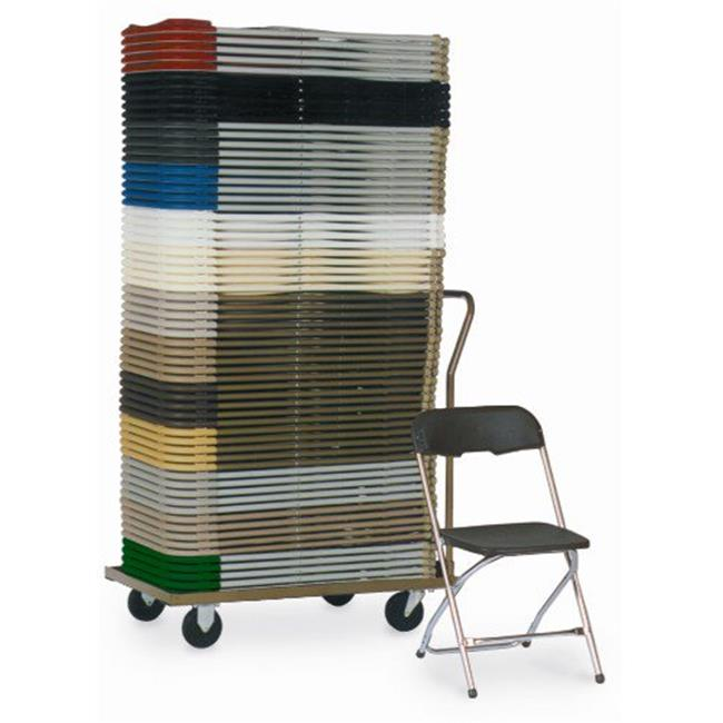 folding chair dolly sears outdoor lounge chairs mccourt 01800 series 5 stackable walmart com
