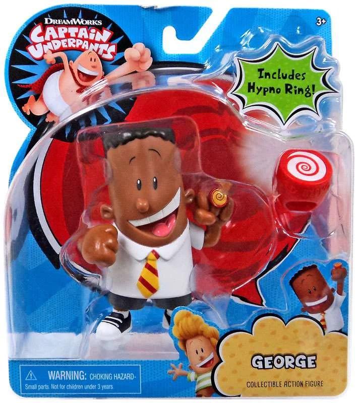 Captain Underpants George Action Figure Walmart