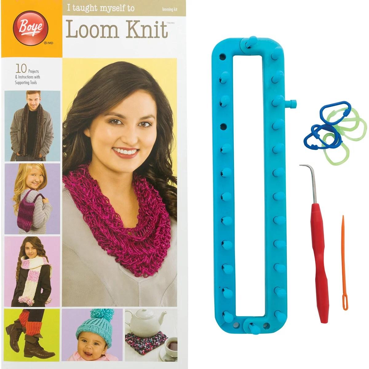 Boye I Taught Myself to Loom Knit Kit, 1 Each