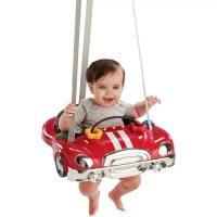 Evenflo- Car Doorway Jumper, Red - Walmart.com