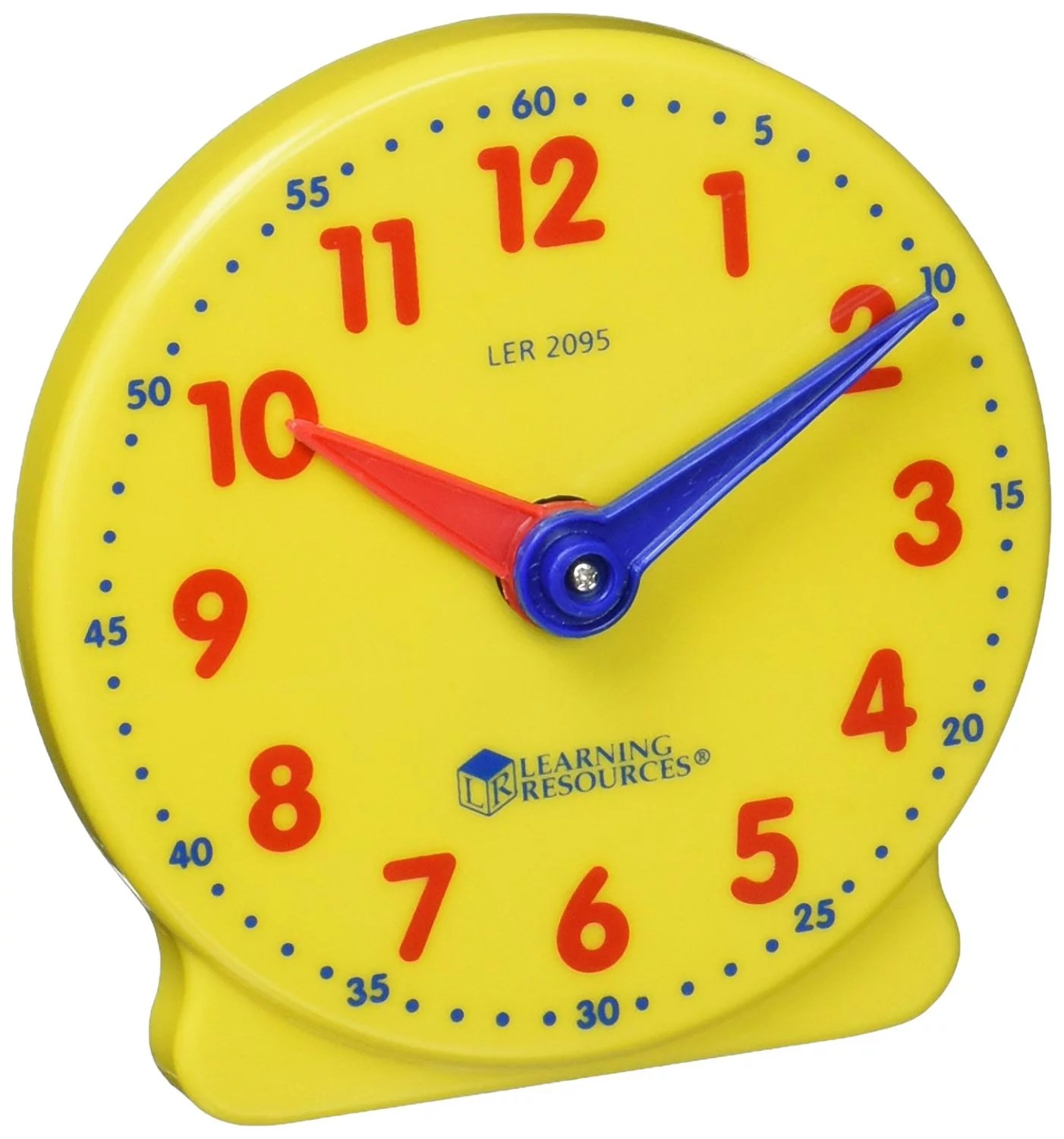 Learning Resources Big Time Student Clock 12 Hour