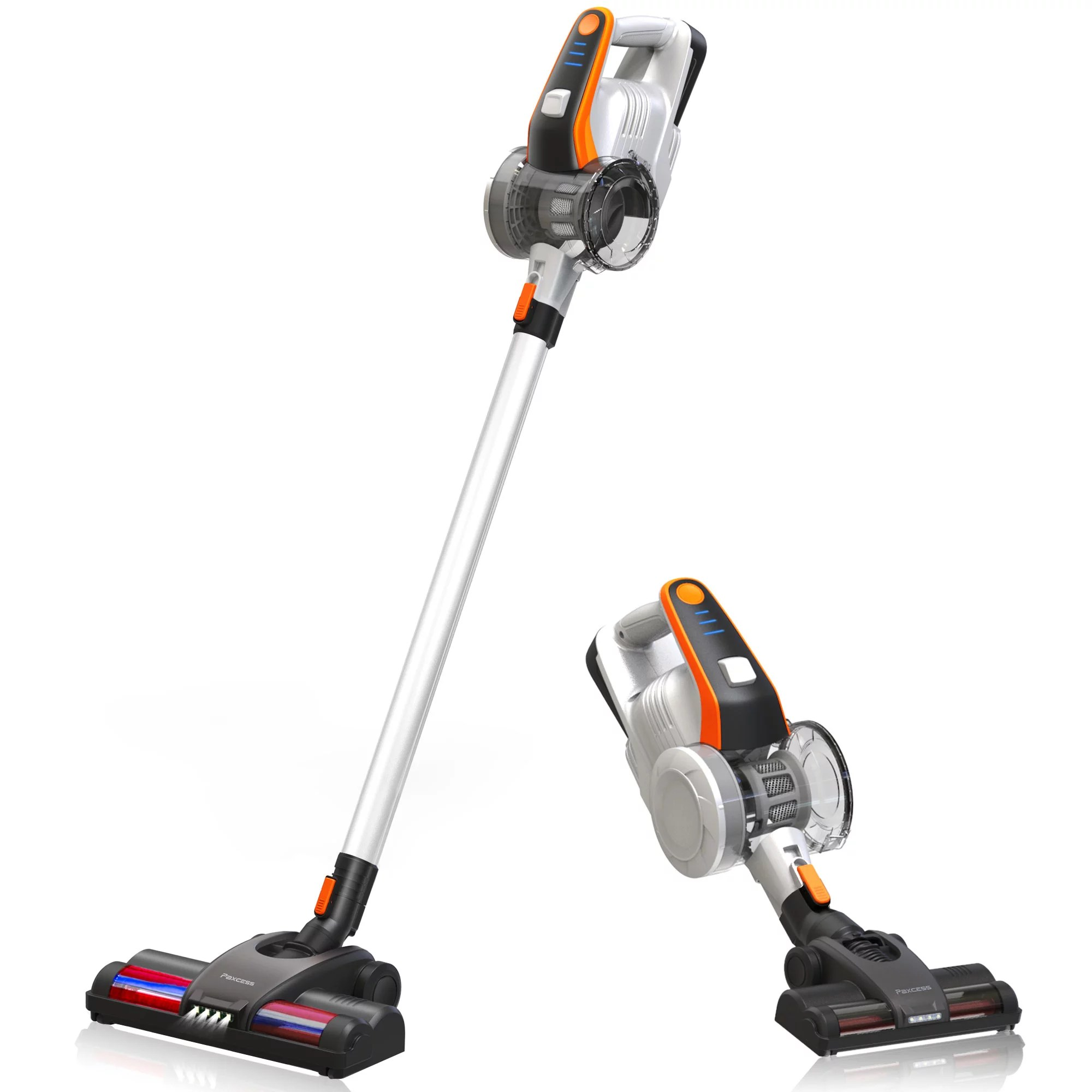 Paxcess Multi Surface Cordless Stick Vacuum Cleaner Walmart Com Walmart Com