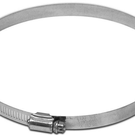 Lambro 381 Tube Clamp, For Use with Duct, 6 in, Aluminum, Galvanized