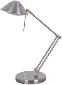 Living Accents 16534-006 Halogen Desk Lamp, Brush Nickel ...