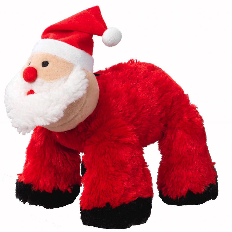 Houses Of Paws Christmas Big Paws Santa Dog Toy Walmart