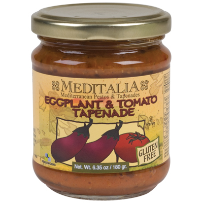 Meditalia Tapenade Roasted Eggplant 635Ounce Pack of 6