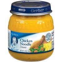 Gerber Gerber 2nd Foods Chicken Noodle Dinner, 4 oz ...