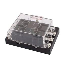 dc32v 6 way terminals circuit car auto fuse box block holder w fuse walmart com [ 1100 x 1100 Pixel ]
