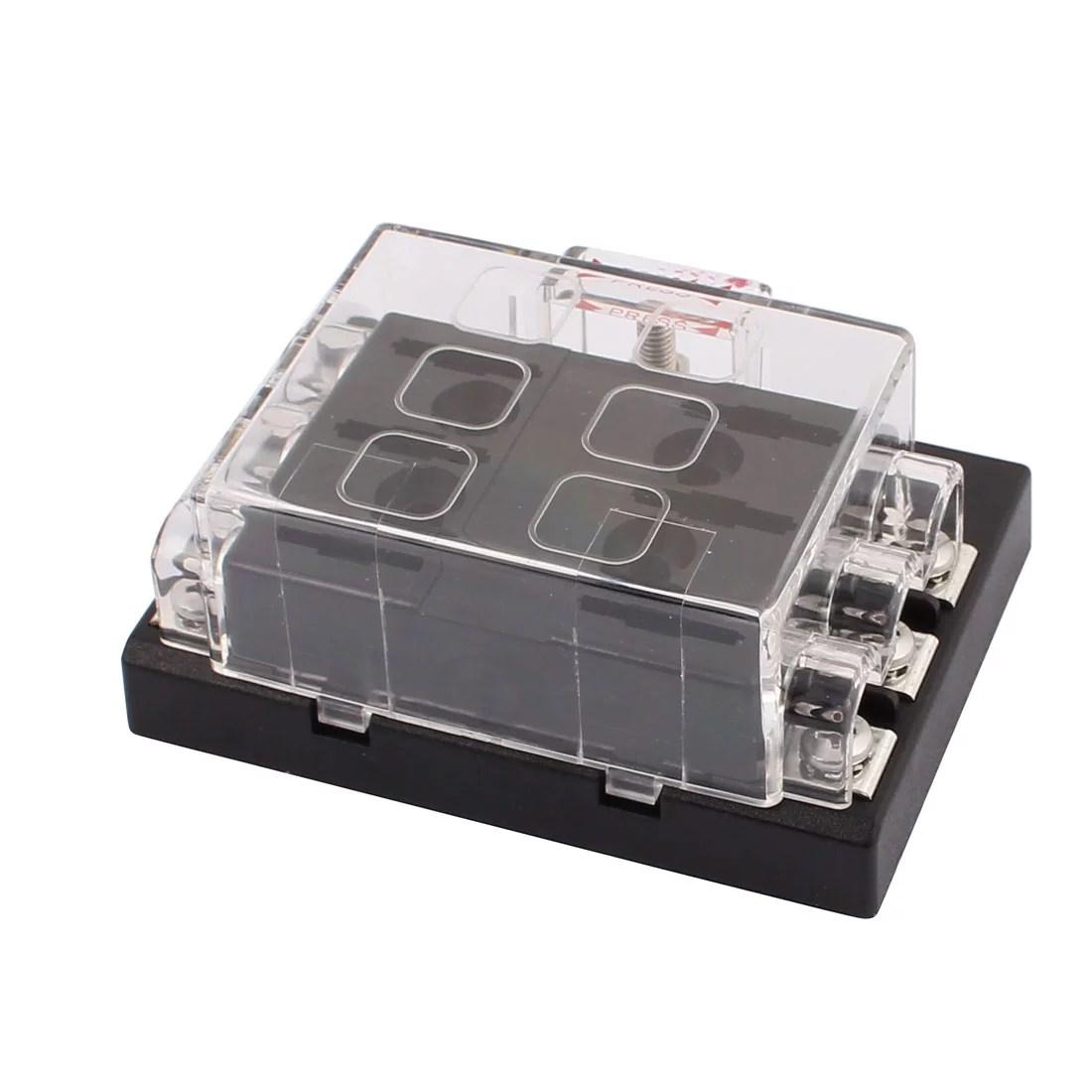 hight resolution of dc32v 6 way terminals circuit car auto fuse box block holder w fuse walmart com