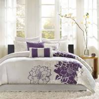 Home Essence Victoria 6-Piece Bedding Comforter Set ...