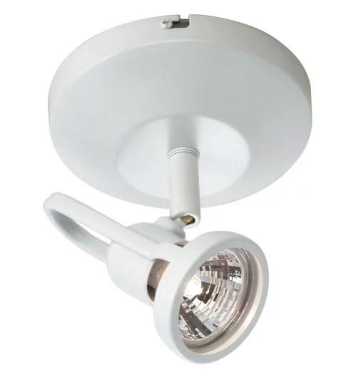 wac lighting me 826 modern 1 light halogen accent spot light