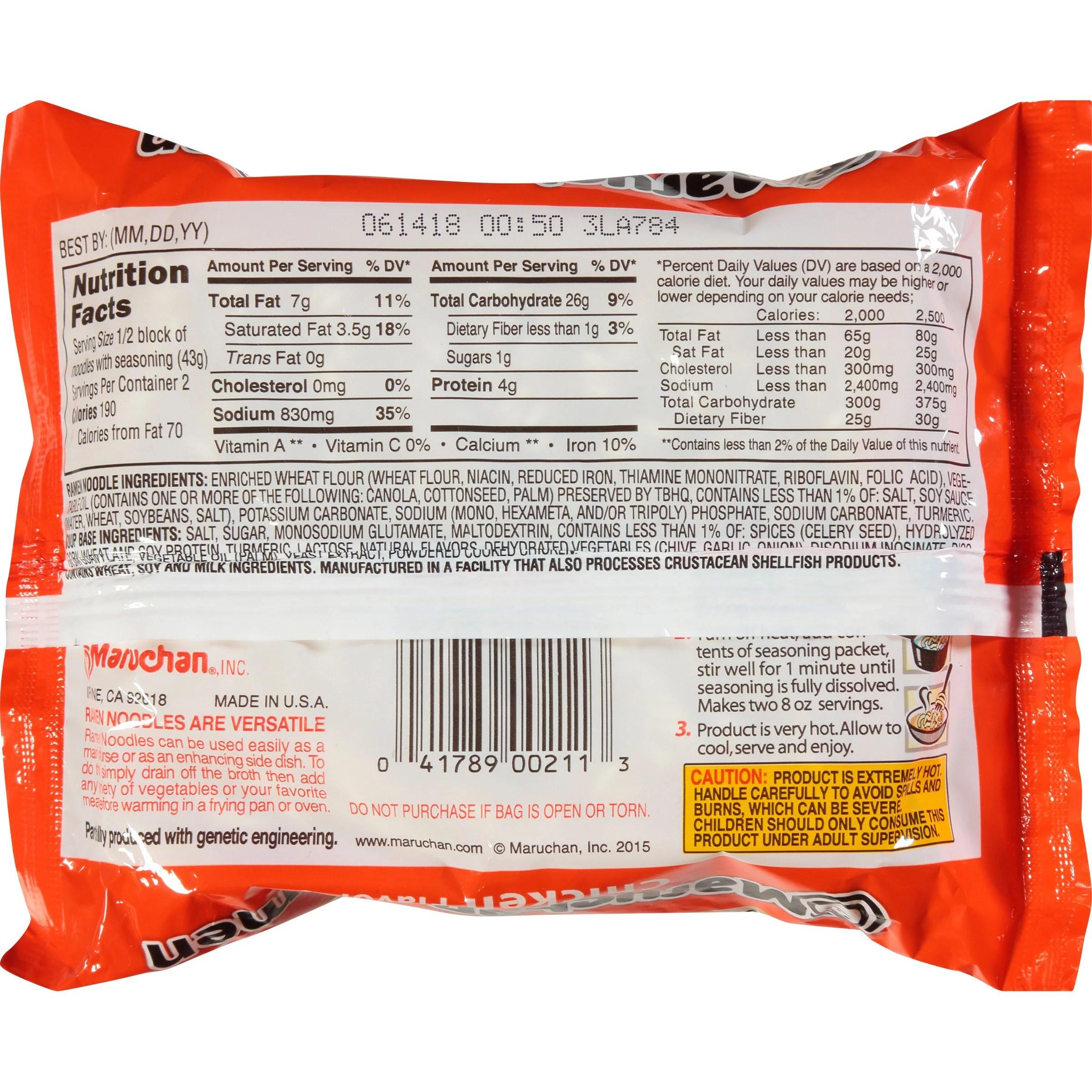 33 Ramen Noodles Nutrition Label - Labels Design Ideas 2020