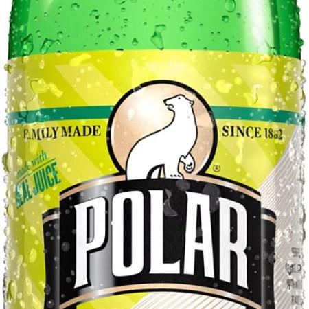 Polar Soda, Bitter Lemon, 33.8 Fl Oz