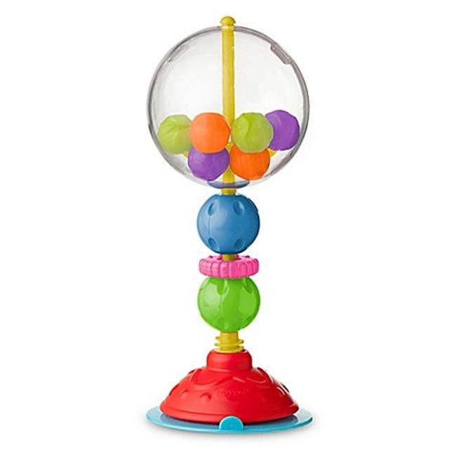 high chair suction toys banquet covers spandex playgro ball bopper toy 6m 1 0 ct walmart com