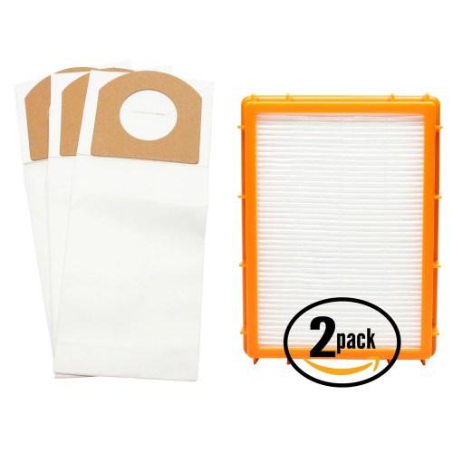small resolution of 3 replacement eureka 4870g vacuum bags 2 hepa filter compatible eureka style rr vacuum bags hf 2 filter