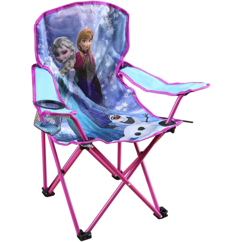 walmart camp chair tall gas cylinder for office disney frozen kids - walmart.com