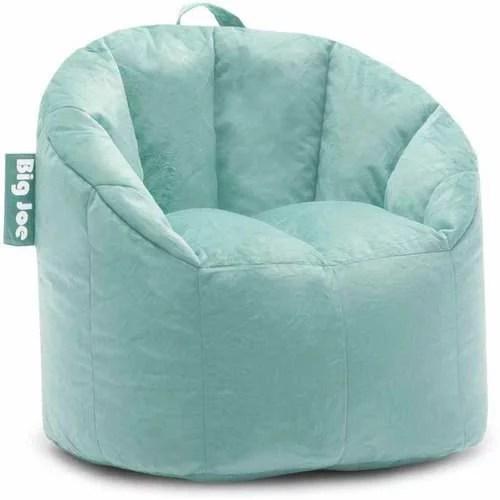 green bean bag chair beach with backpack straps big joe milano multiple colors 32 x 28 25 walmart com