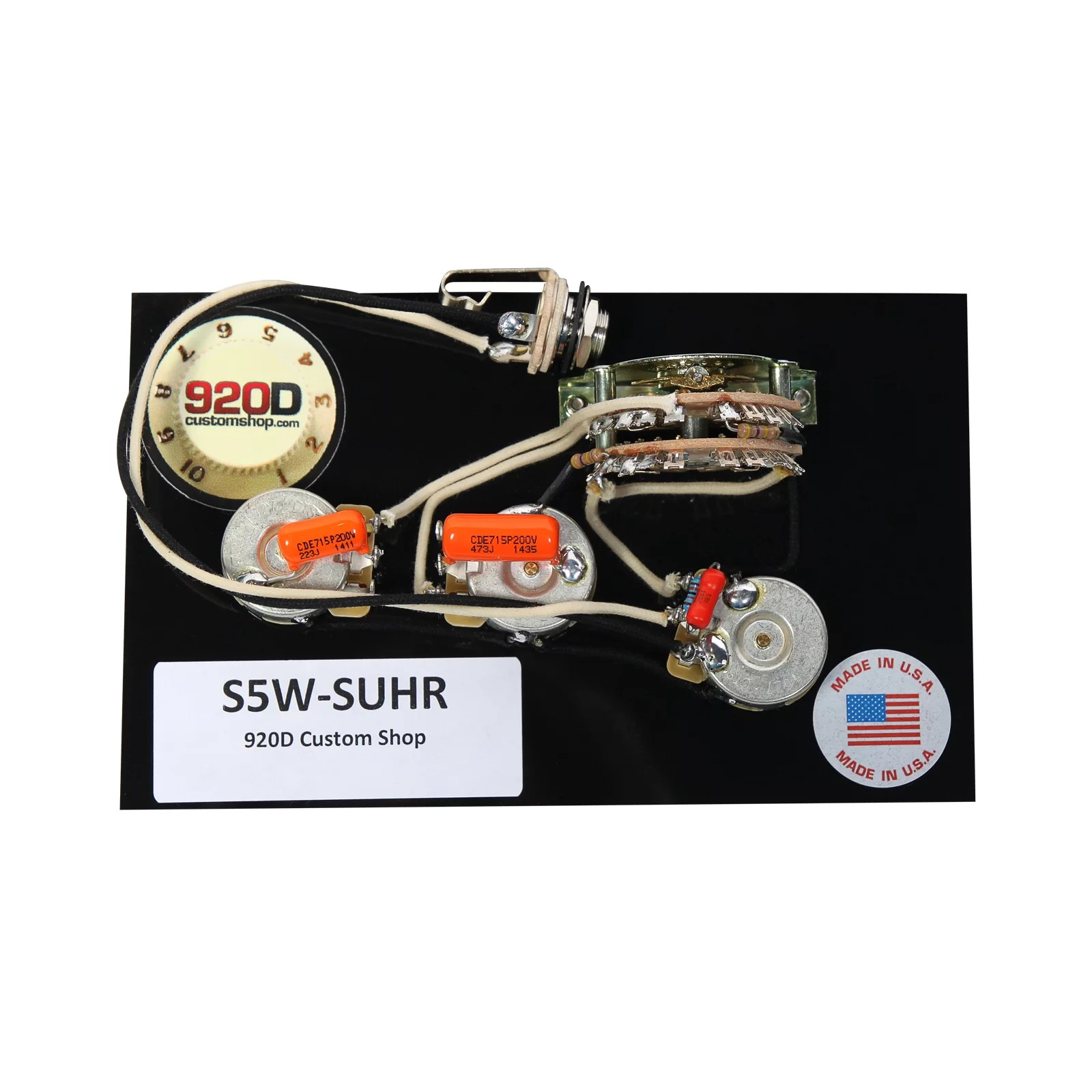 medium resolution of 920d custom shop suhr hss wiring harness w 5 way super switch rh walmart com suhr