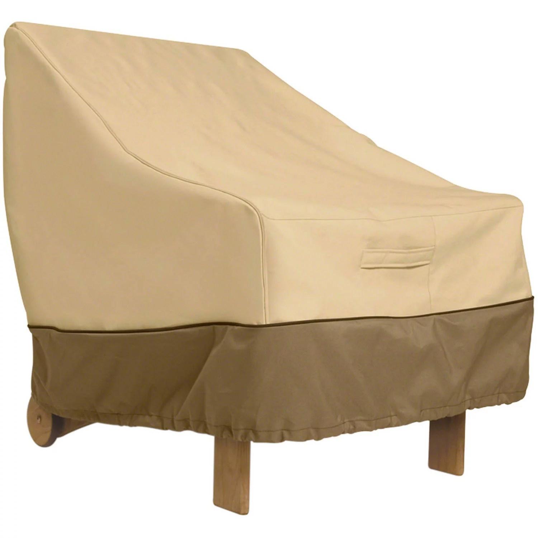 classic accessories veranda water resistant 38 inch patio lounge chair cover walmart com