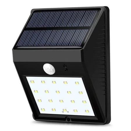 Leadingstar Outdoor Solar Wall Lights 20 LED Super Bright