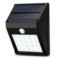 Leadingstar Outdoor Solar Wall Lights 20 LED Super Bright ...