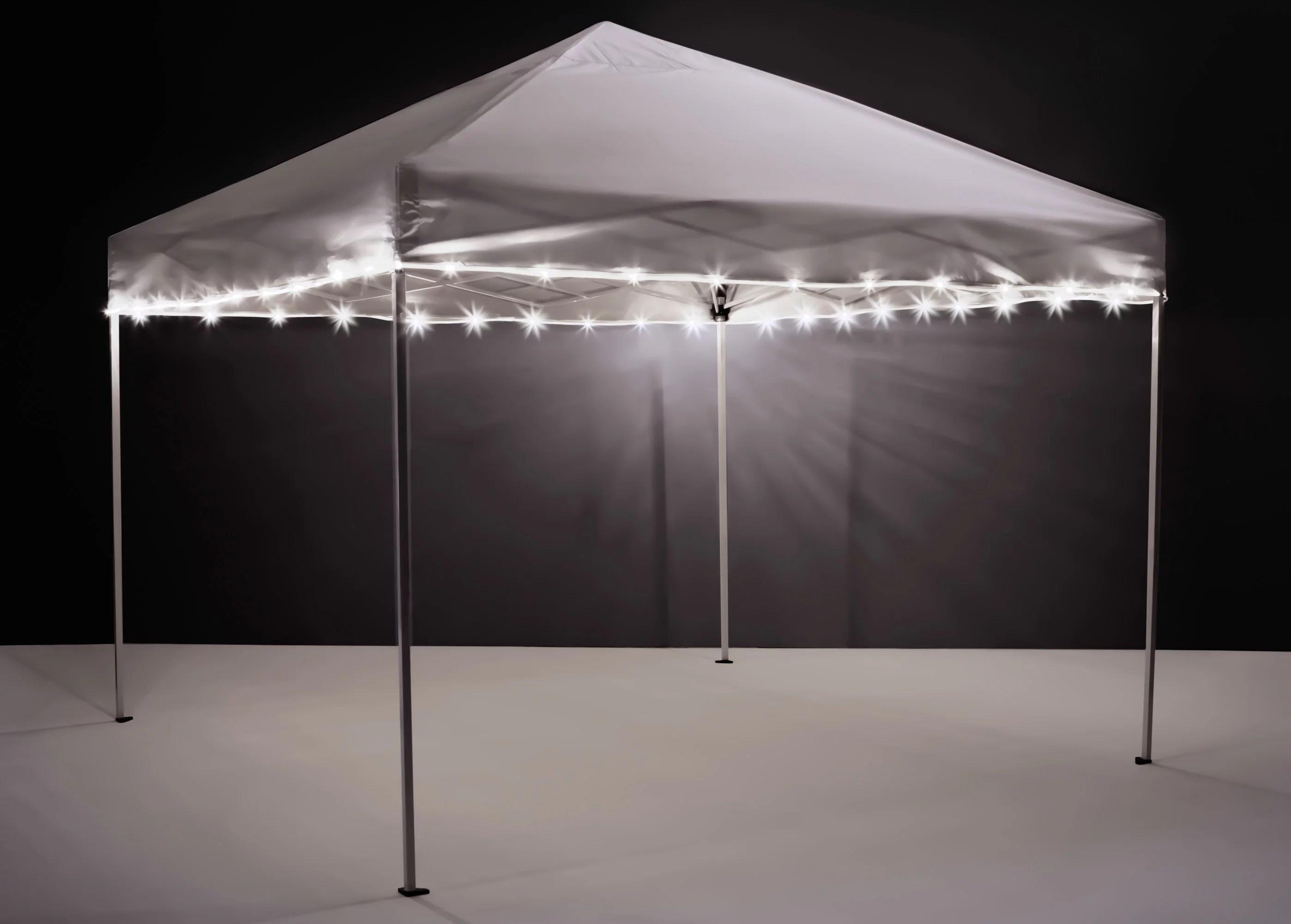 brightz white led light string for canopies canopybrightz walmart com walmart com