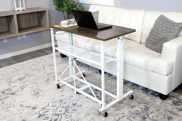 Up2u Folding Height-adjustable Desk Craft Table