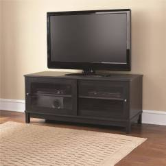Tv Stand Living Room Photos Of Dividers Mainstays 55 With Sliding Glass Doors Multiple Colors Walmart Com